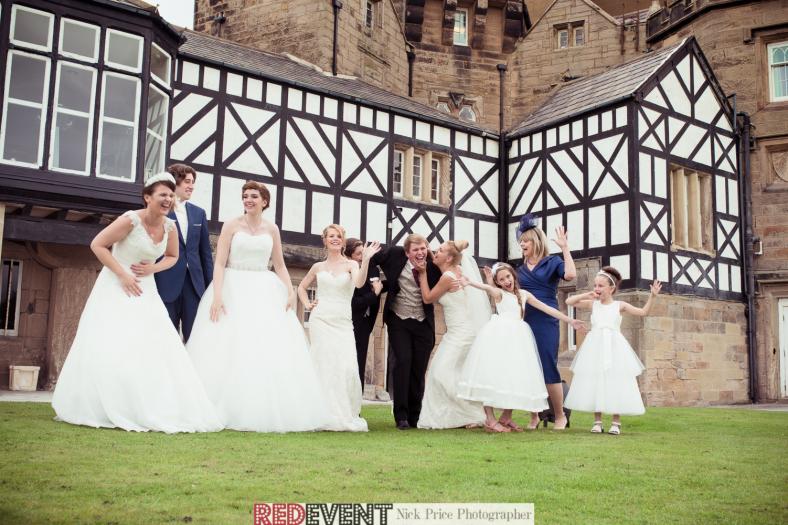 Our Models enjoying a photoshoot outside Leasowe Castle!