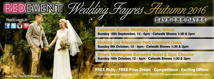 Autumn Fayres Wedding Fayre Red Event North West Wedding Fair Merseyside