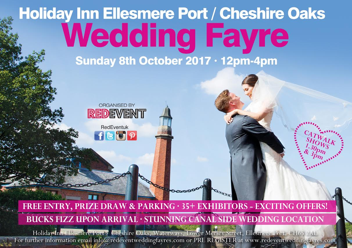 Holiday Inn Ellesmere Port Red Event Wedding Fayre Autumn 2017 North West Wedding Fayre Chester, Cheshire, Wirral, Merseyside Wedding Fair.jpg www.redeventweddingfayres.com.jpg