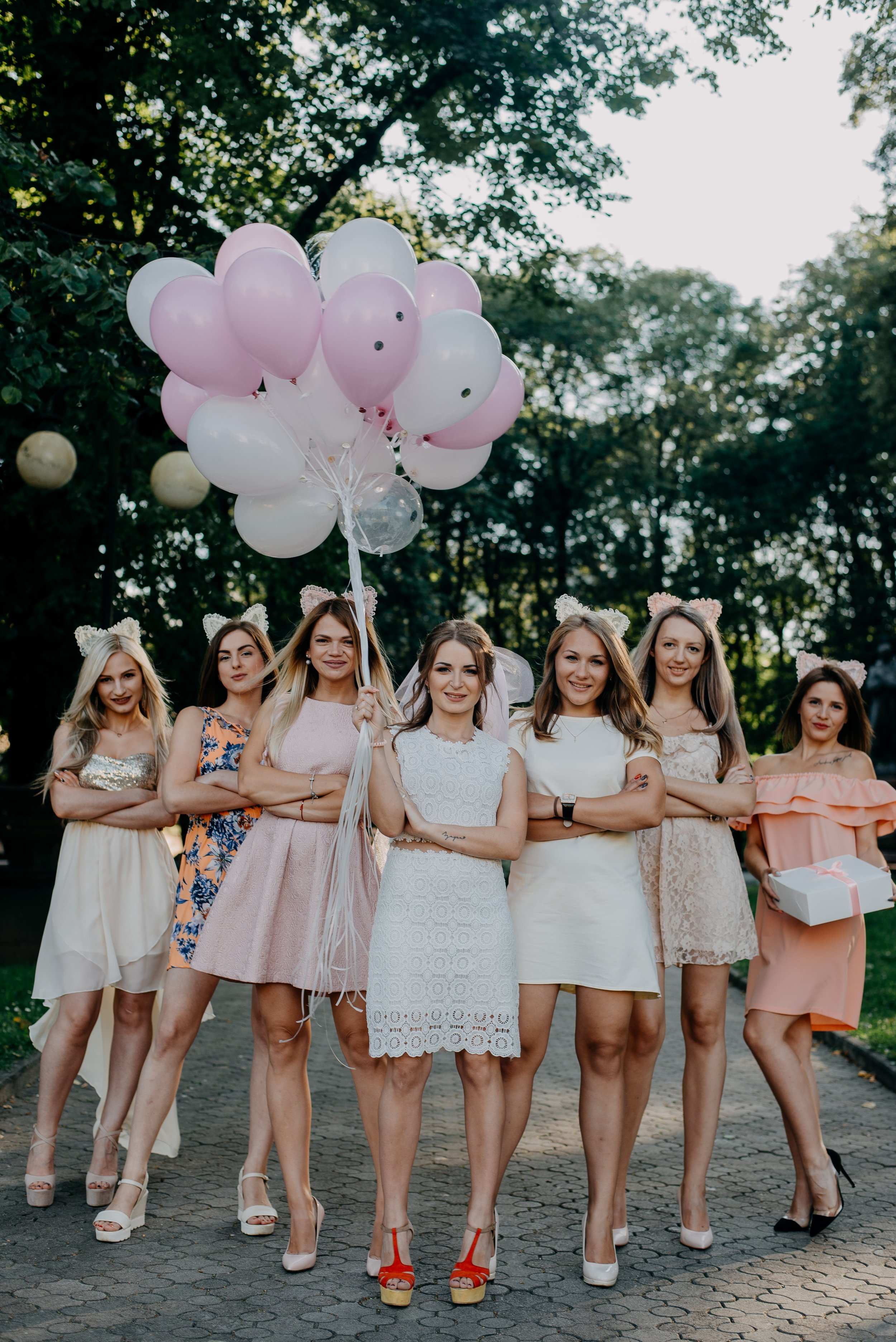 Bridesmaids www.redeventweddingfayres.com/blog