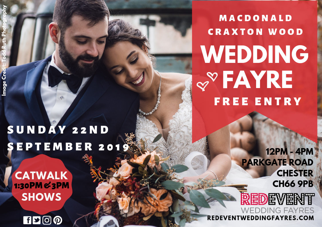 Flyer A4 Poster - Craxton Wood Wedding Fayre .png