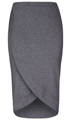 Gowntown Women's Stretchy Pencil Skirt