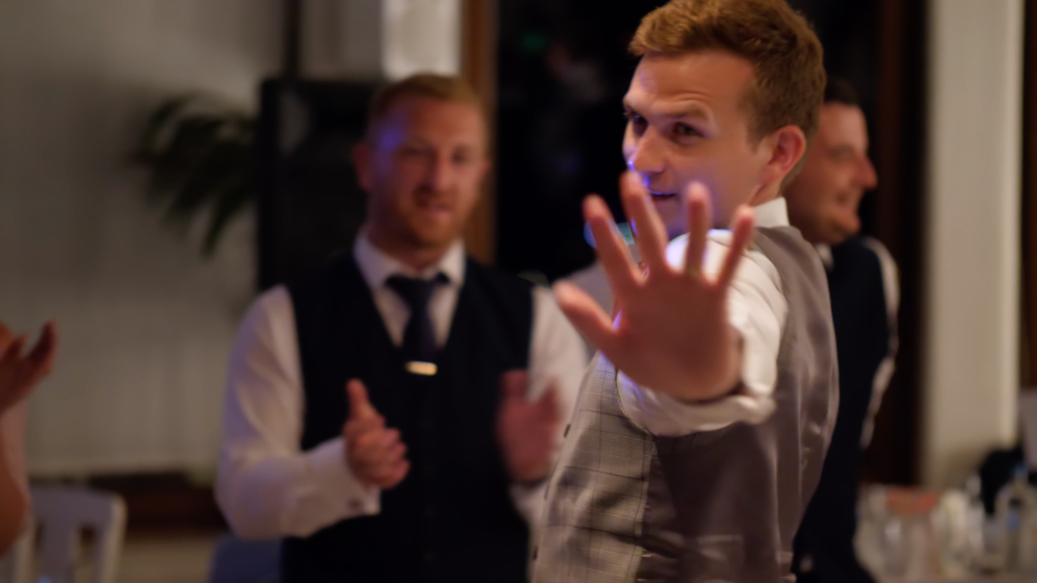 'Cause if you liked it, then you should have put a ring on it.' Gareth dances to Beyoncé on his wedding day.