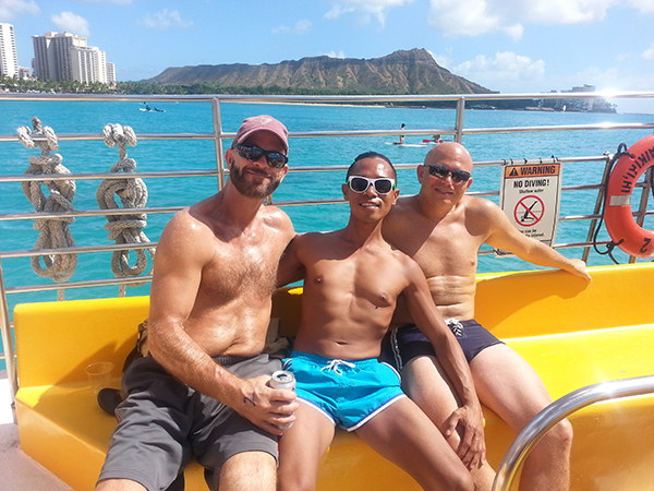 Aloha Classic catamaran cruise President's Day Weekend 2016 - 6.jpg