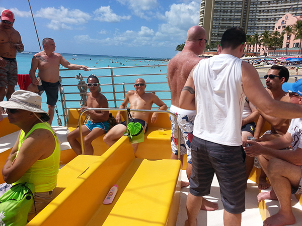 Aloha Classic catamaran cruise President's Day Weekend 2016 - 3.jpg