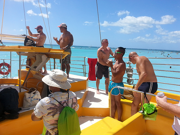 Aloha Classic catamaran cruise President's Day Weekend 2016 - 2.jpg