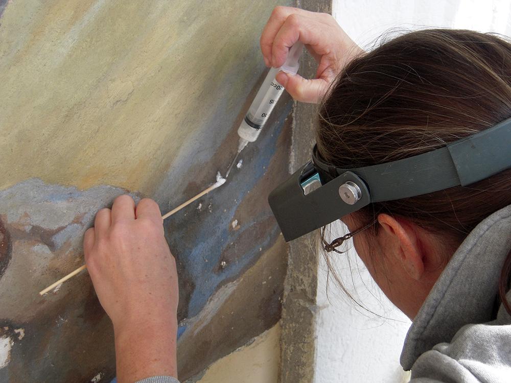 ConservArt Associates, Inc., Susanne Friend. Restoration, Conservation.