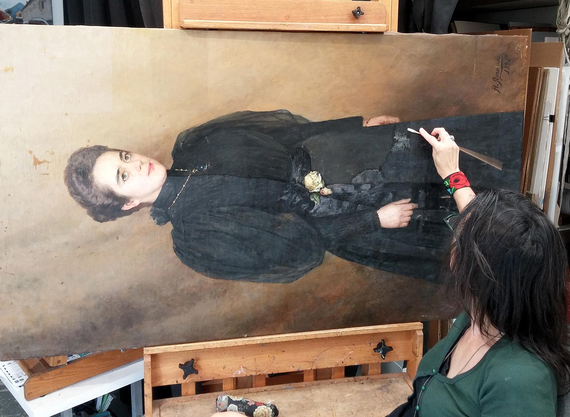 ConservArt Associates, Inc., Susanne Friend. Art Restoration, Conservation.