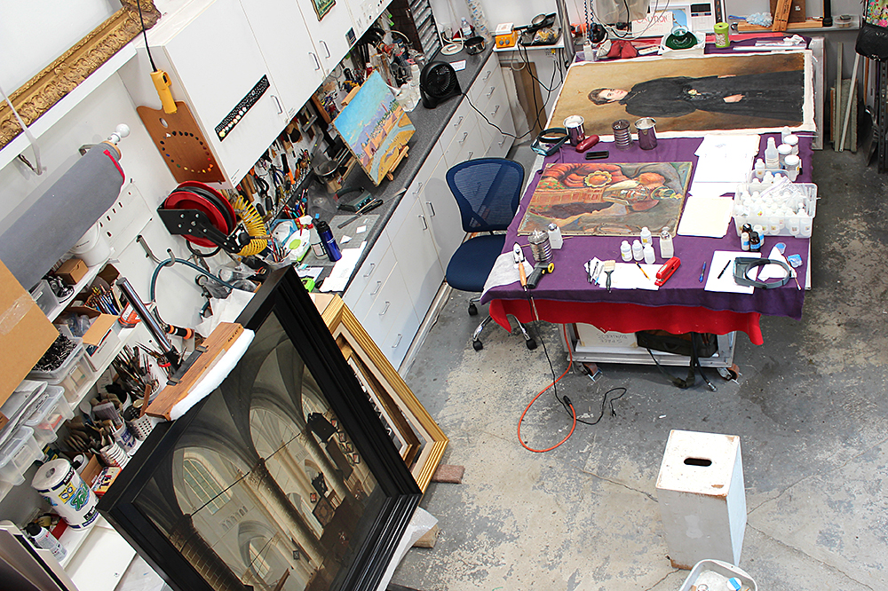 ConservArt Associates, Inc., Susanne Friend. Art Restoration, Art Conservation.