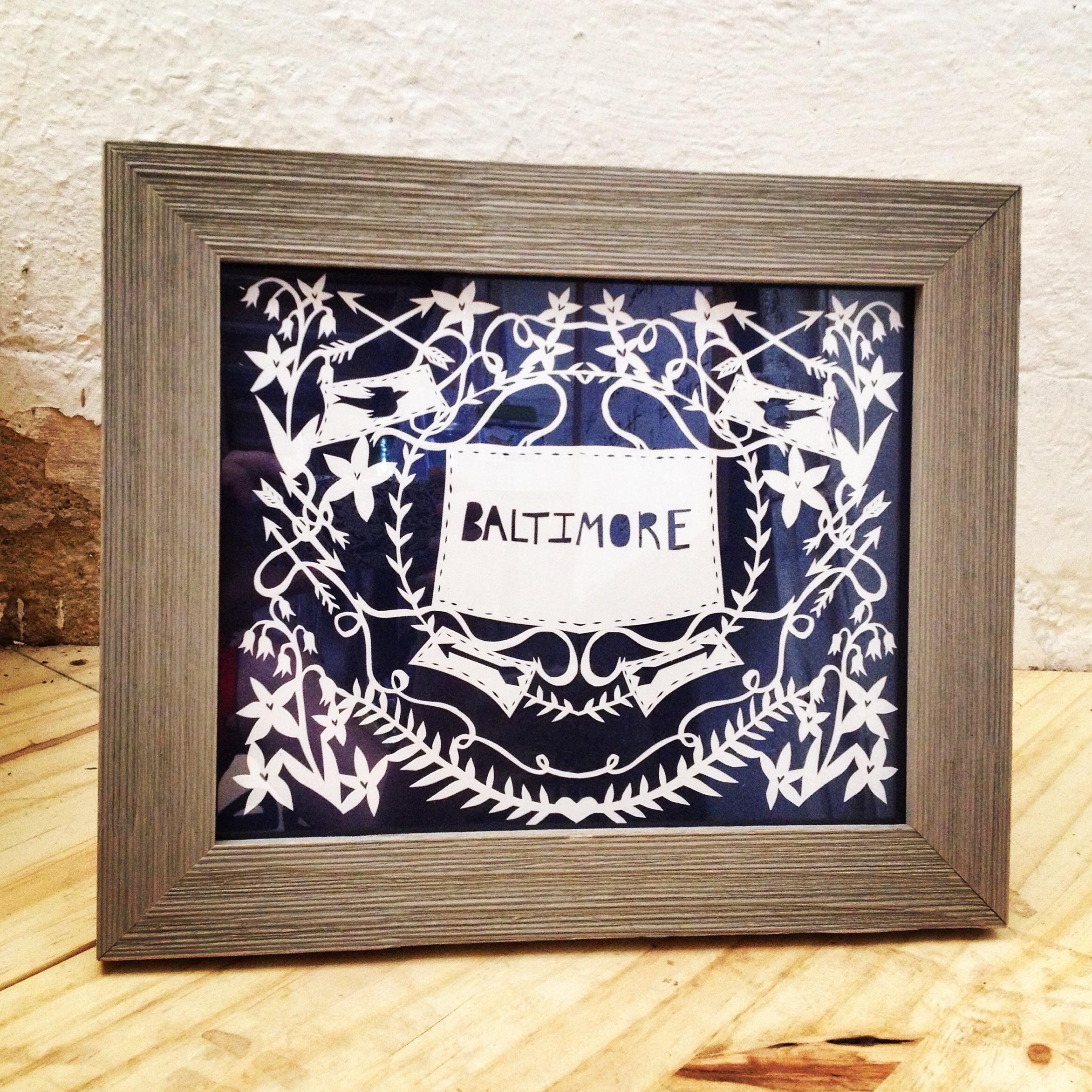 Annie - Annie Howe Papercuts