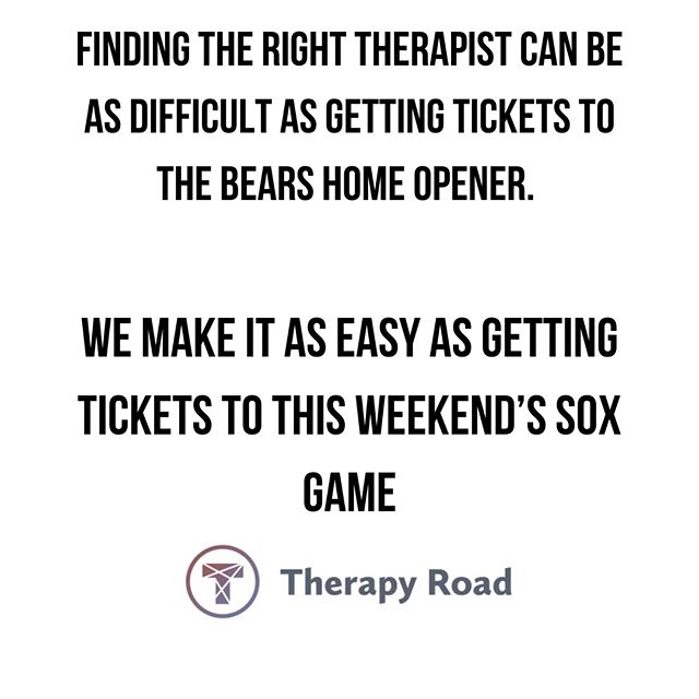Who else will be watching the game from their couch on Thursday night? Speaking of couches....if you've been thinking about beginning therapy begin your search at TherapyRoad.com 🛋 . . Shoutout to @chelsea_mac for the inspiration! Have a clever idea? Hit us up in the DMs! . . . #MentalIllness #MentalHealth #MentalHealthJourney #MentalHealthAwareness #Anxiety #Depression #OCD #PostpartumDepression #Postpartum #MentalHealth #Health #Wellness #LoveYourself #Bipolar #SelfEsteem #SelfHarm #PTSD #Relationships #Millennials #Support #MentalHealthSupport #DowntownChicago #Chicago #ChiTown #MyTherapyRoad #ChicagoTherapist #ChicagoTherapists