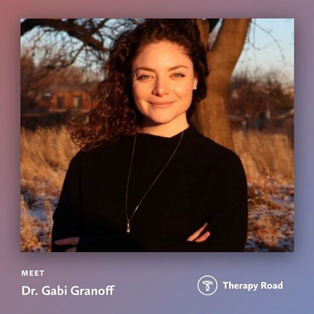 Our community of providers is growing! Welcome to Therapy Road, Dr. Gabi Granoff! Dr. Granoff is part of the team at Solway Psychology. She offers a unique blend of psychodynamic theory and somatic work to support her clients' healing. Check her out on Therapy Road! (link in bio) #chicagotherapist #mytherapyroad #ravenswoodchicago