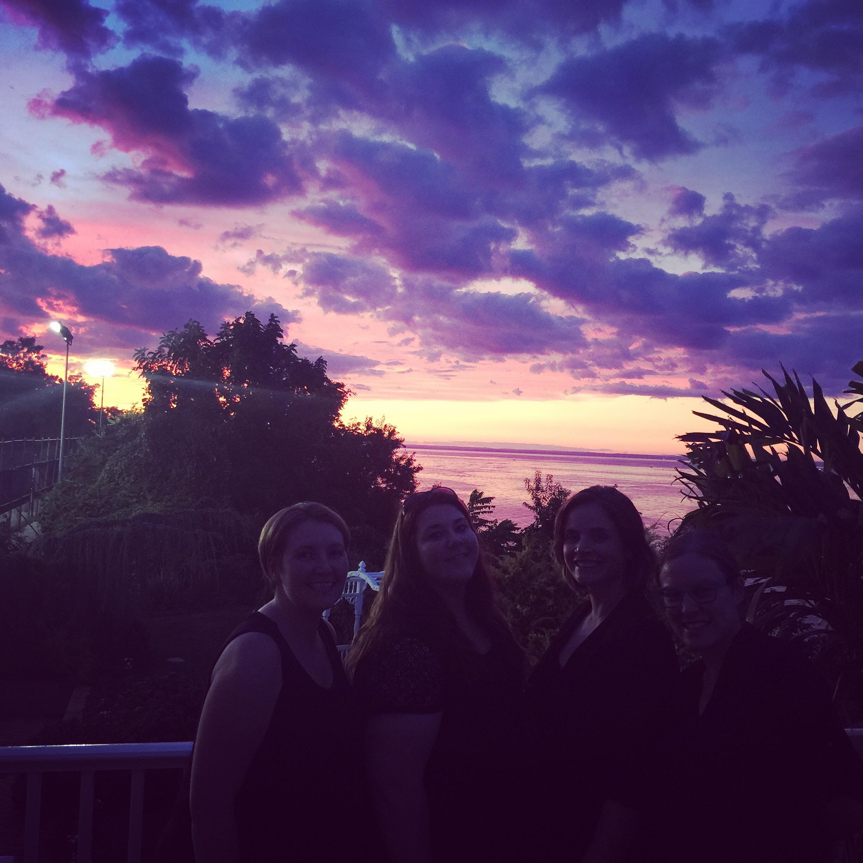 Sunset Over The Long Island Sound - Port Jefferson