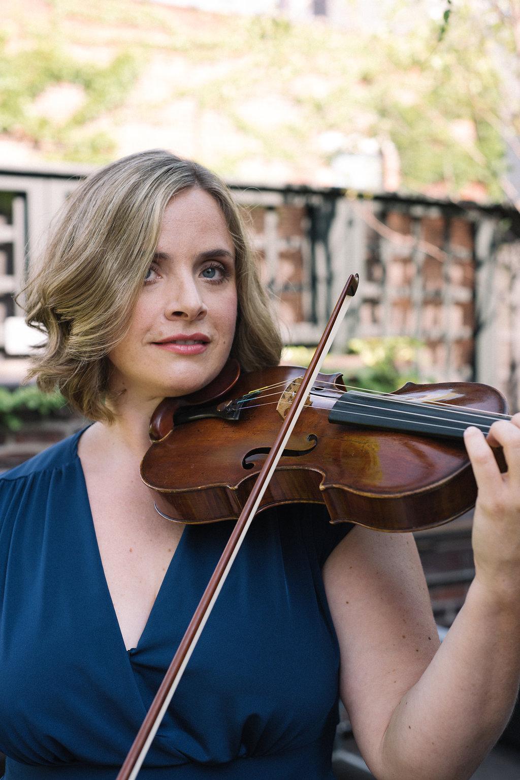 Stephanie Merten - Violinist