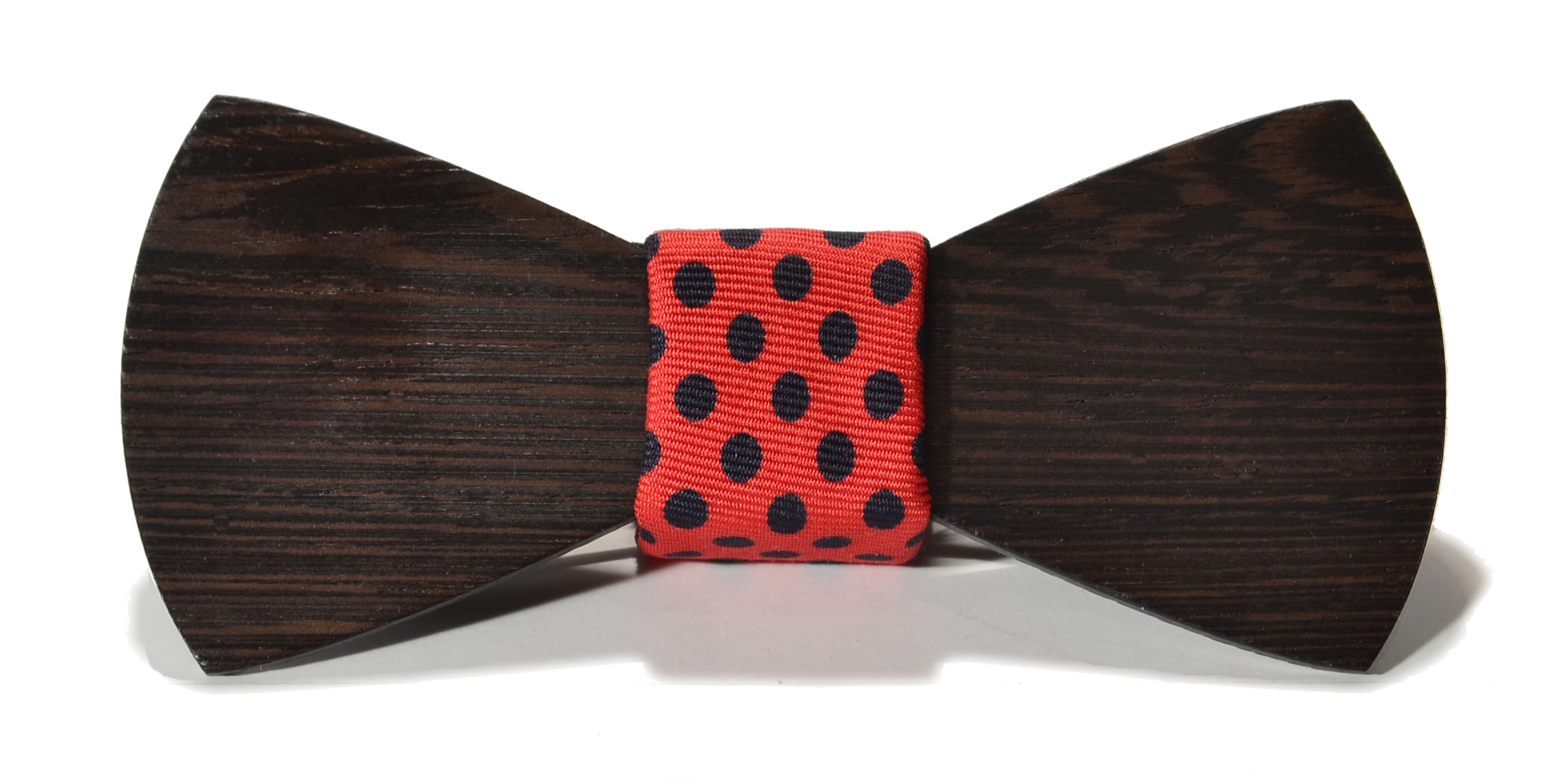 The Monroe Wenge Traditional Silk Wooden Bow Tie