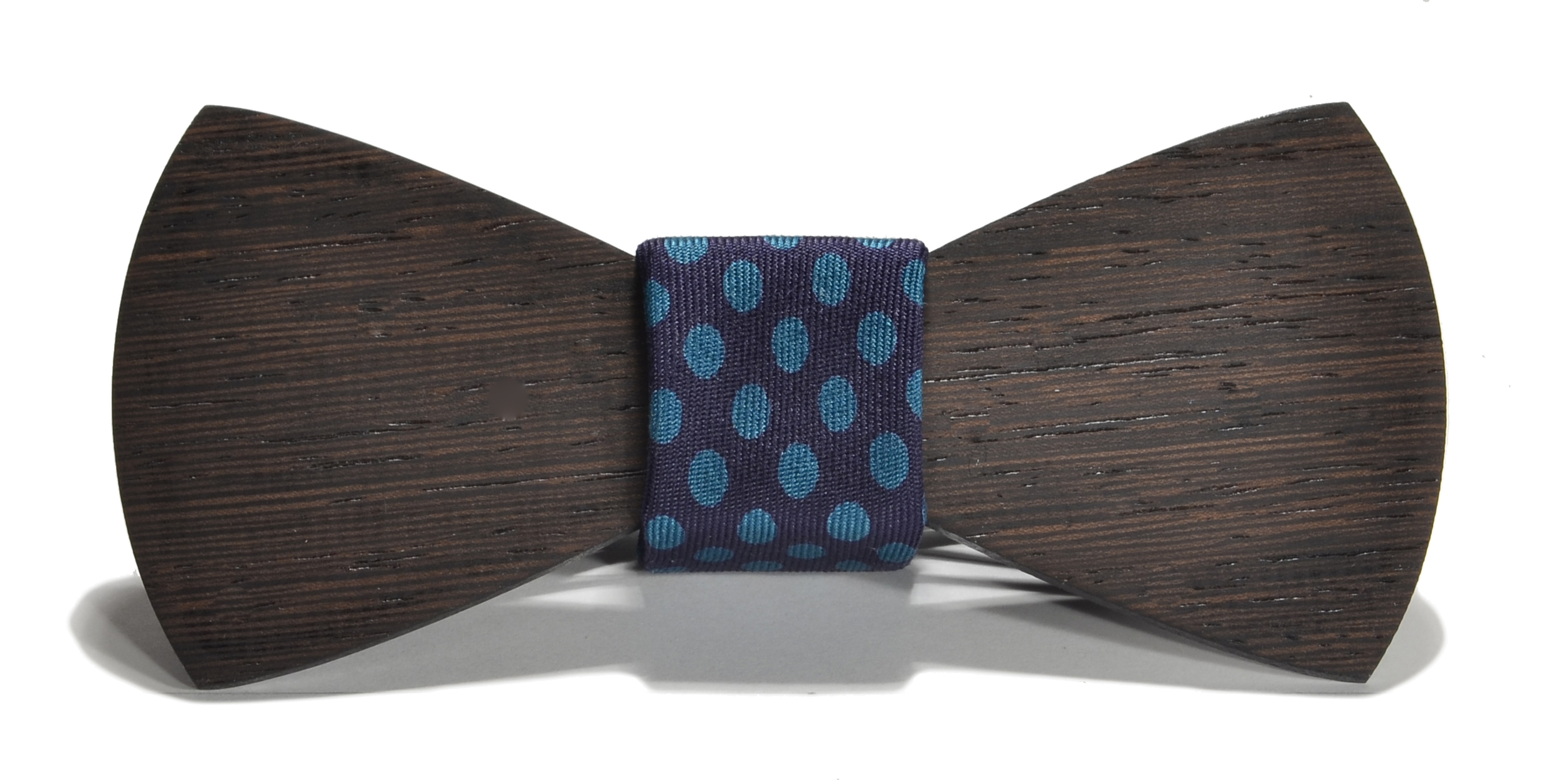 The Cambridge Wenge Traditional Silk Wooden Bow Tie