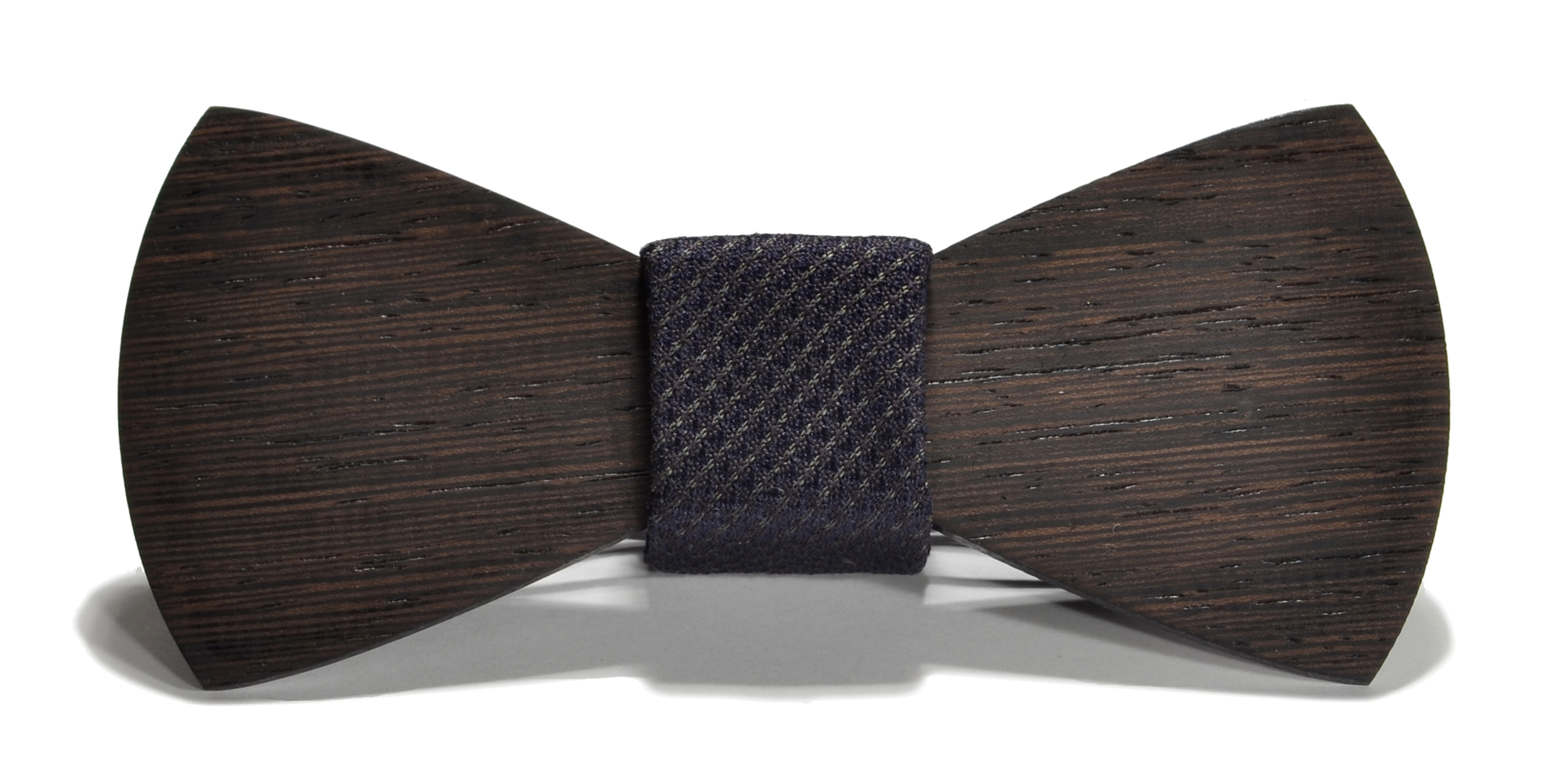 The Sinatra Wenge Traditional Silk Wooden Bow Tie