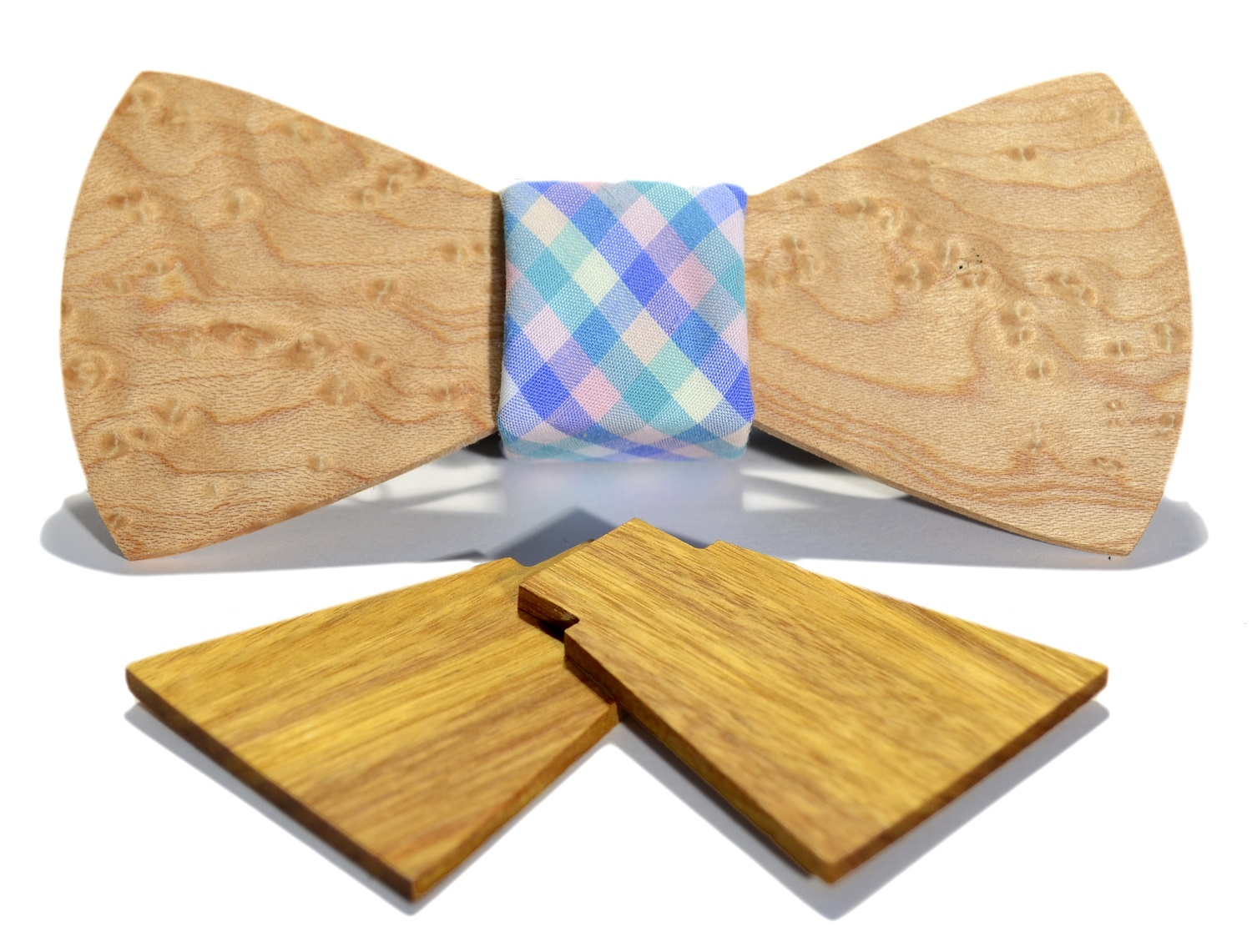 The Georgetowner Wooden Bow Tie Box Set