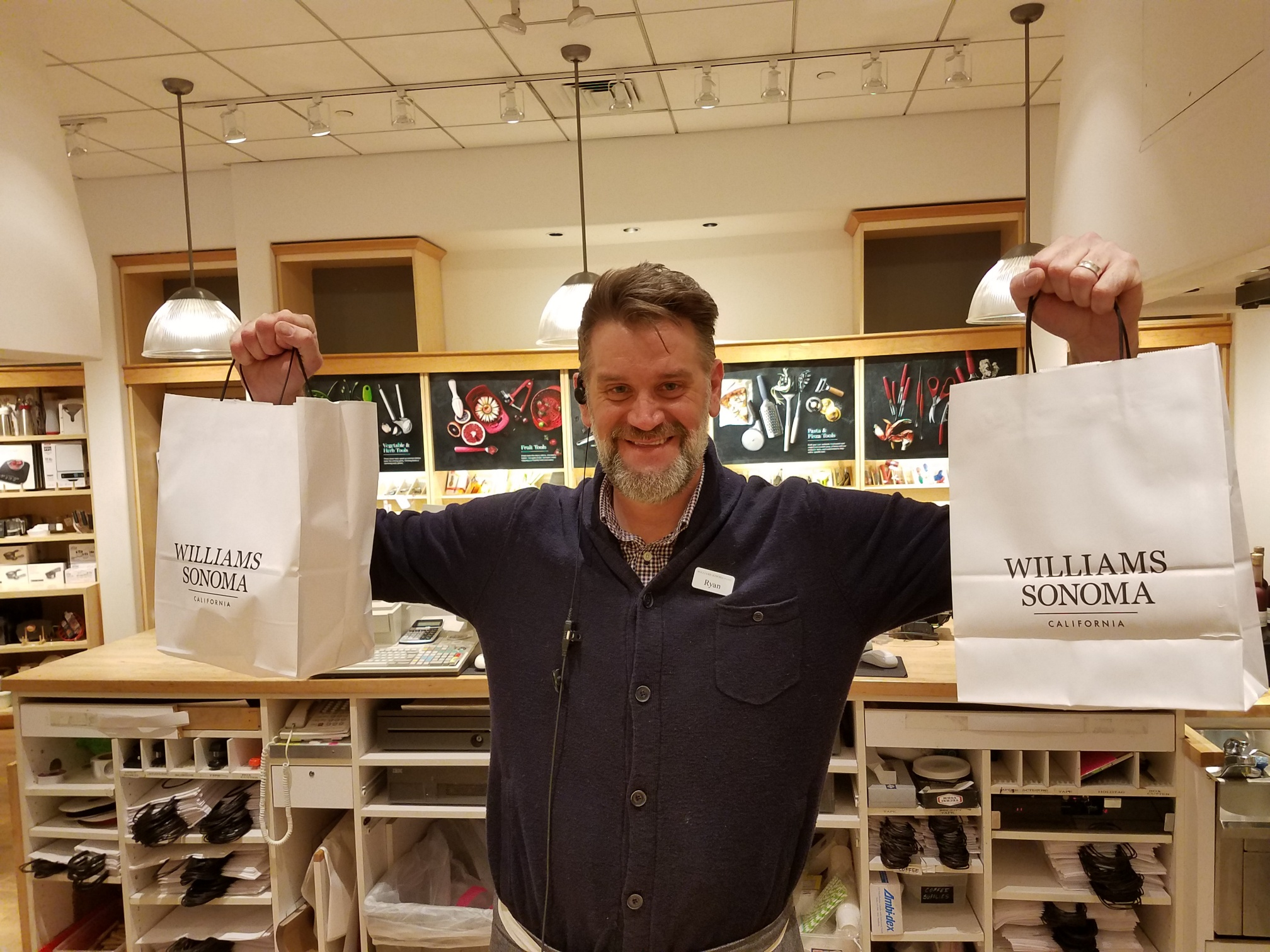 Ray, Williams and Sonoma