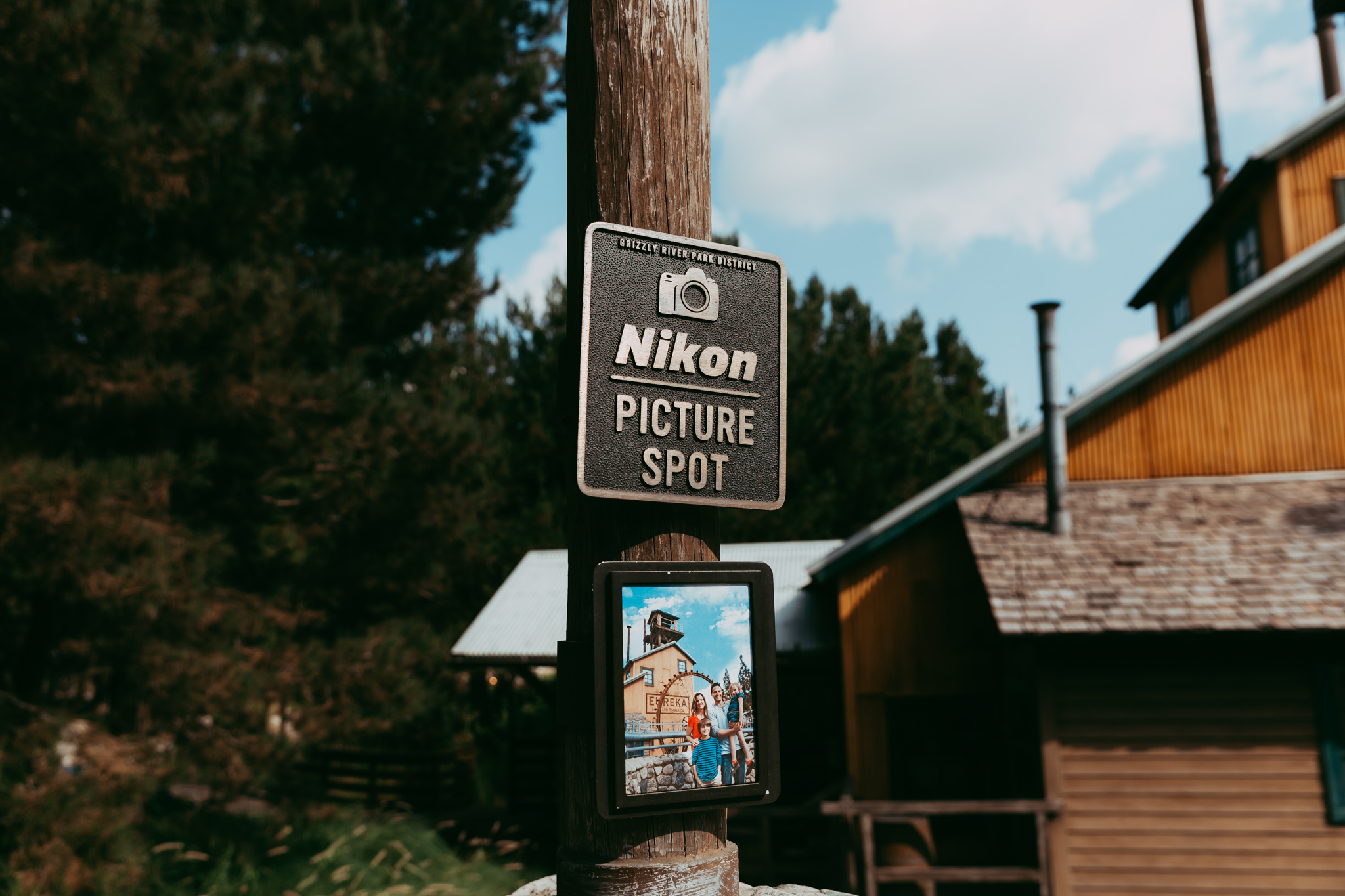 Nikon Picture Spots Located Throughout the Parks