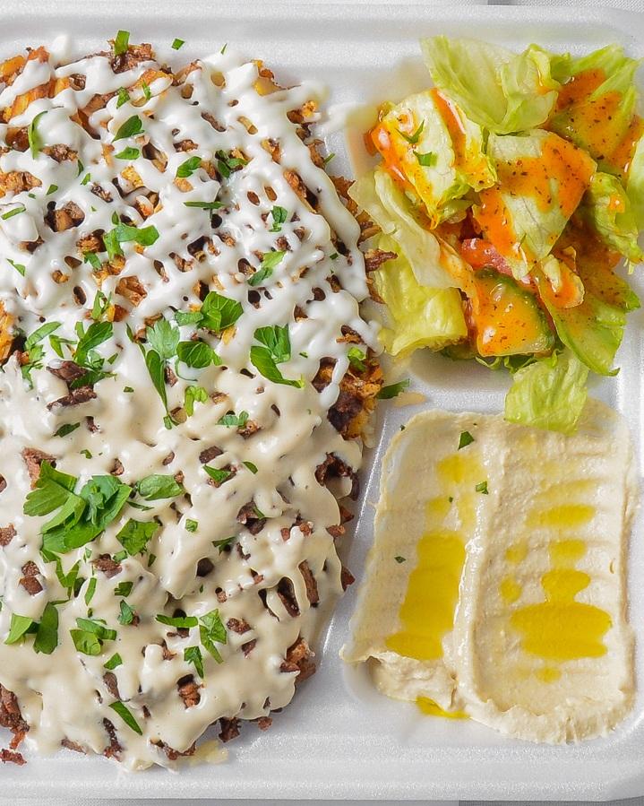 Mixed Shawarma with Rice   M $77.99 / L $155.99