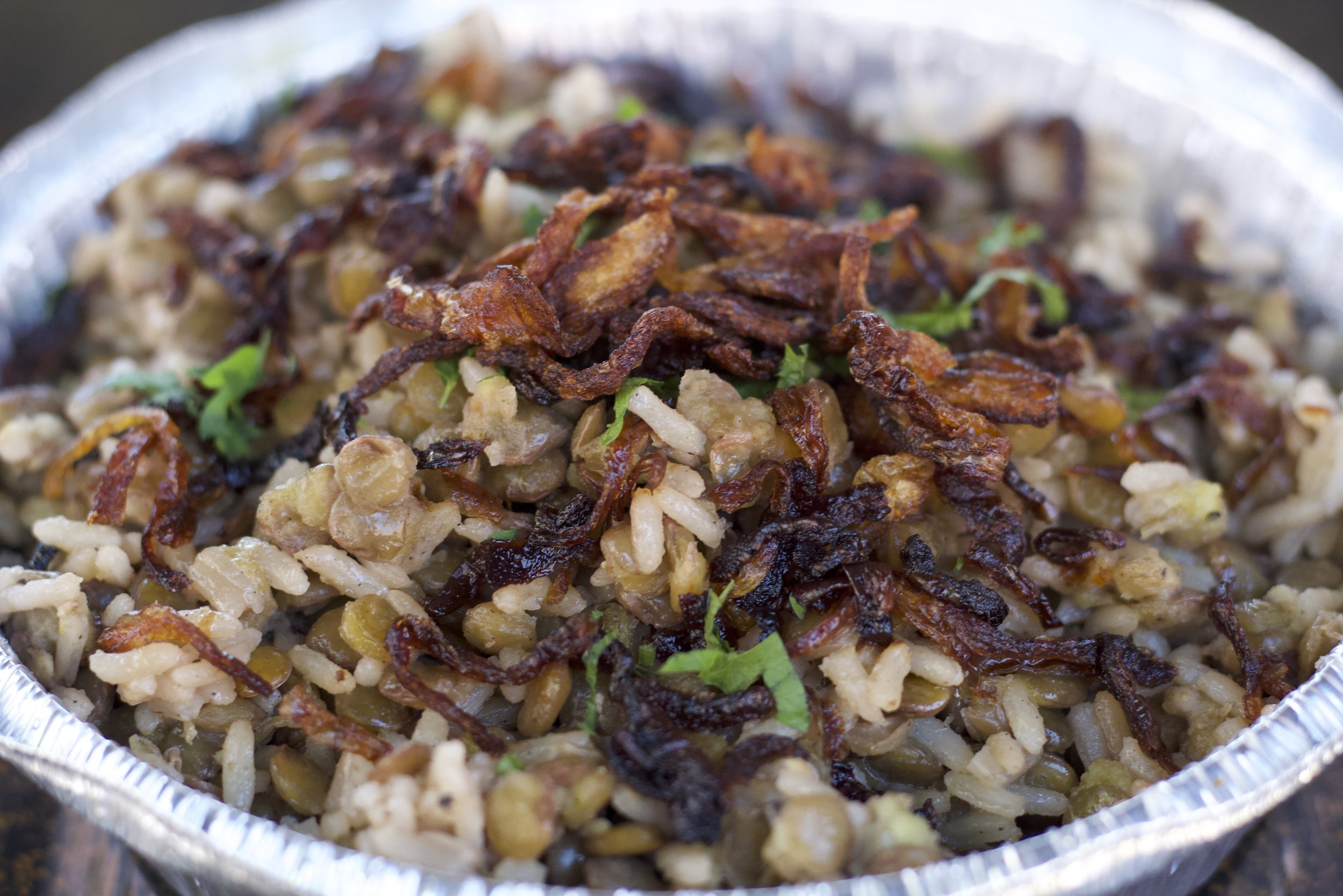 Rice with Lentils - $6.00