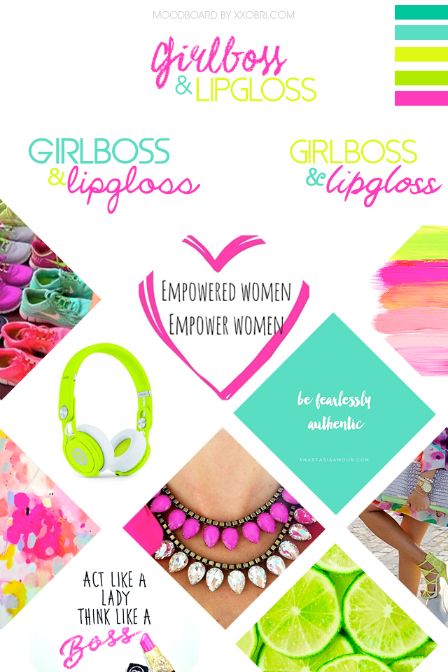 GIRLBOSS AND LIPGLOSS // MOODBOARD