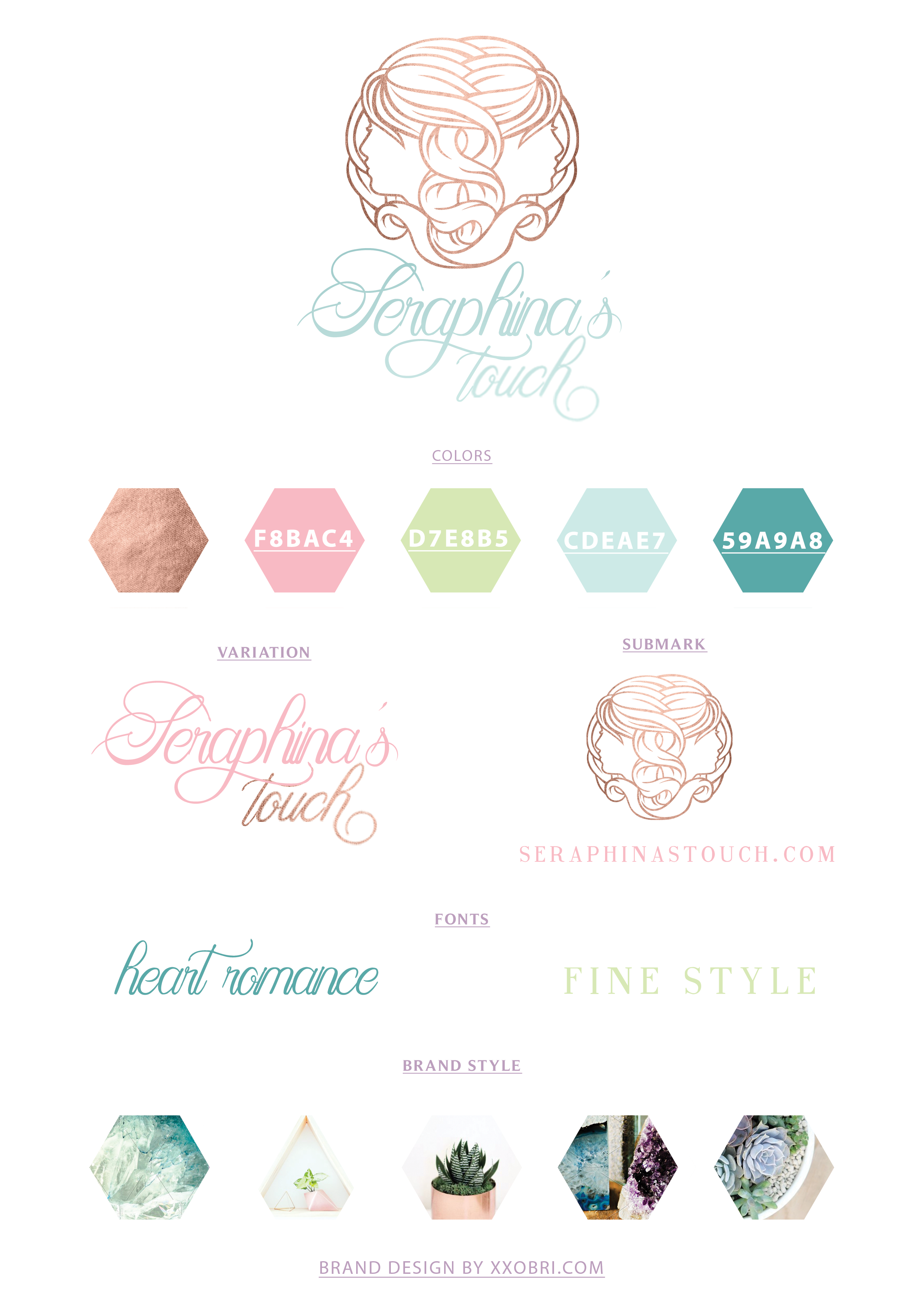 Seraphina's Touch // Branding