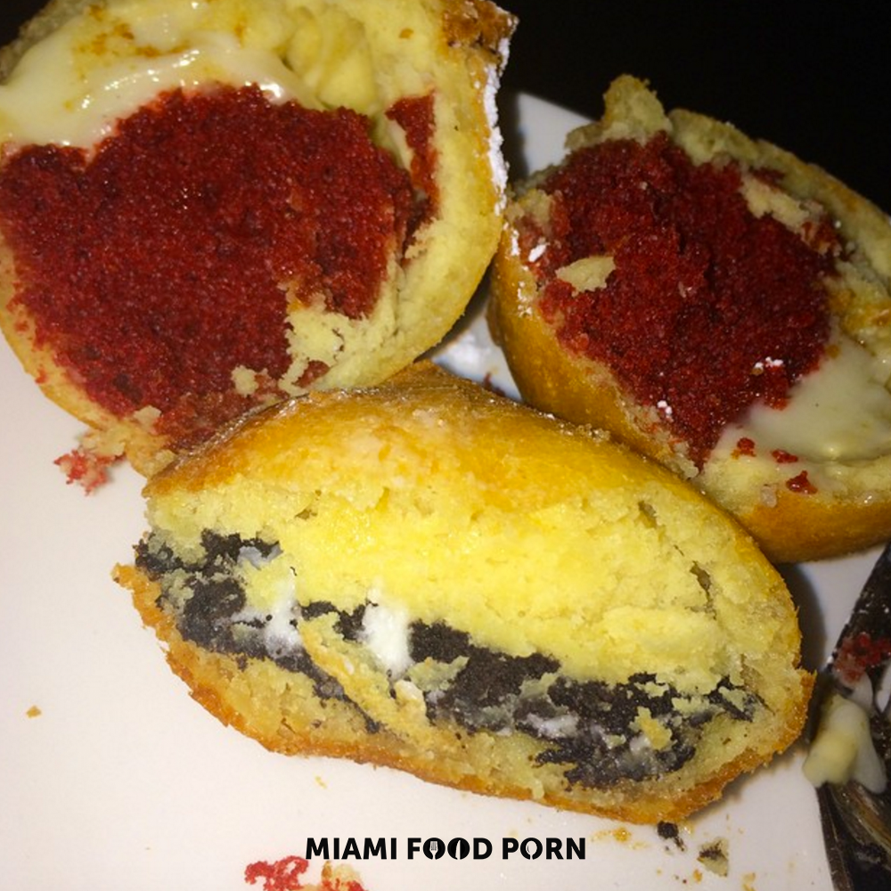 1.	Fried oreos & fried red velvet cupcakes from Prime 112