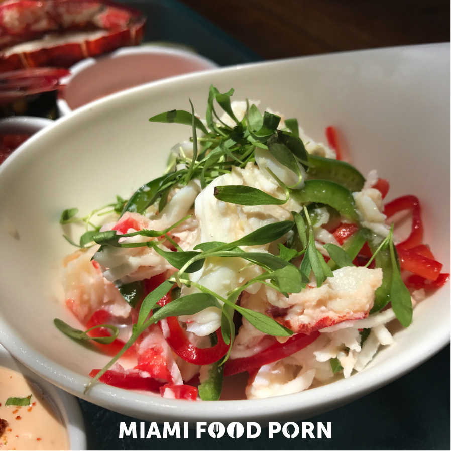 Lobster and Crab Coconut Ceviche