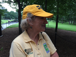 Suzanne Sigona, winner of the 2015 L ibby Hatch award, which recognizes outstanding commitment as a volunteer at the Vietnam Veterans Memorial. Suzanne will be with us during the trip.