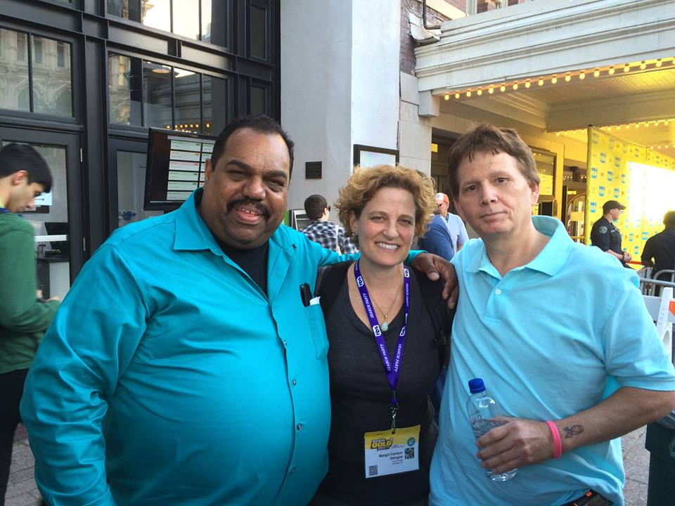 Daryl Davis. left, and Scott Shepherd, right, with 2 Sides Project Founder Margot Carlson Delogne  after the premiere of Accidental Courtesy  at the 2016 SXSW Film Festival. Scott is a former Grand Dragon in the KKK who at one time hated black people. Today he speaks out against racism and the KKK on his  blog . Daryl and Scott are now good friends, and Daryl considers Scott a brother.