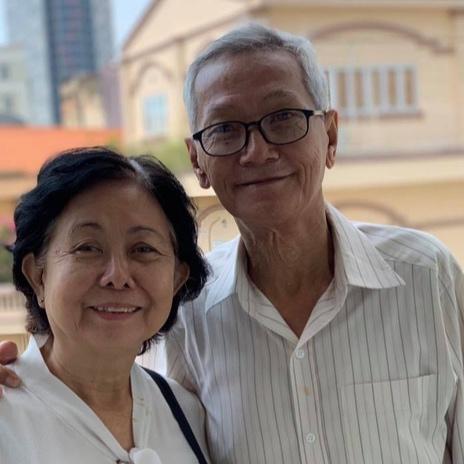 Tran Trong Duc and Nguyen Thi Dao, Saigon, 2018