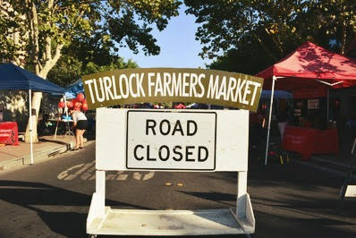 A preview of downtown Turlock'sfarmer's market
