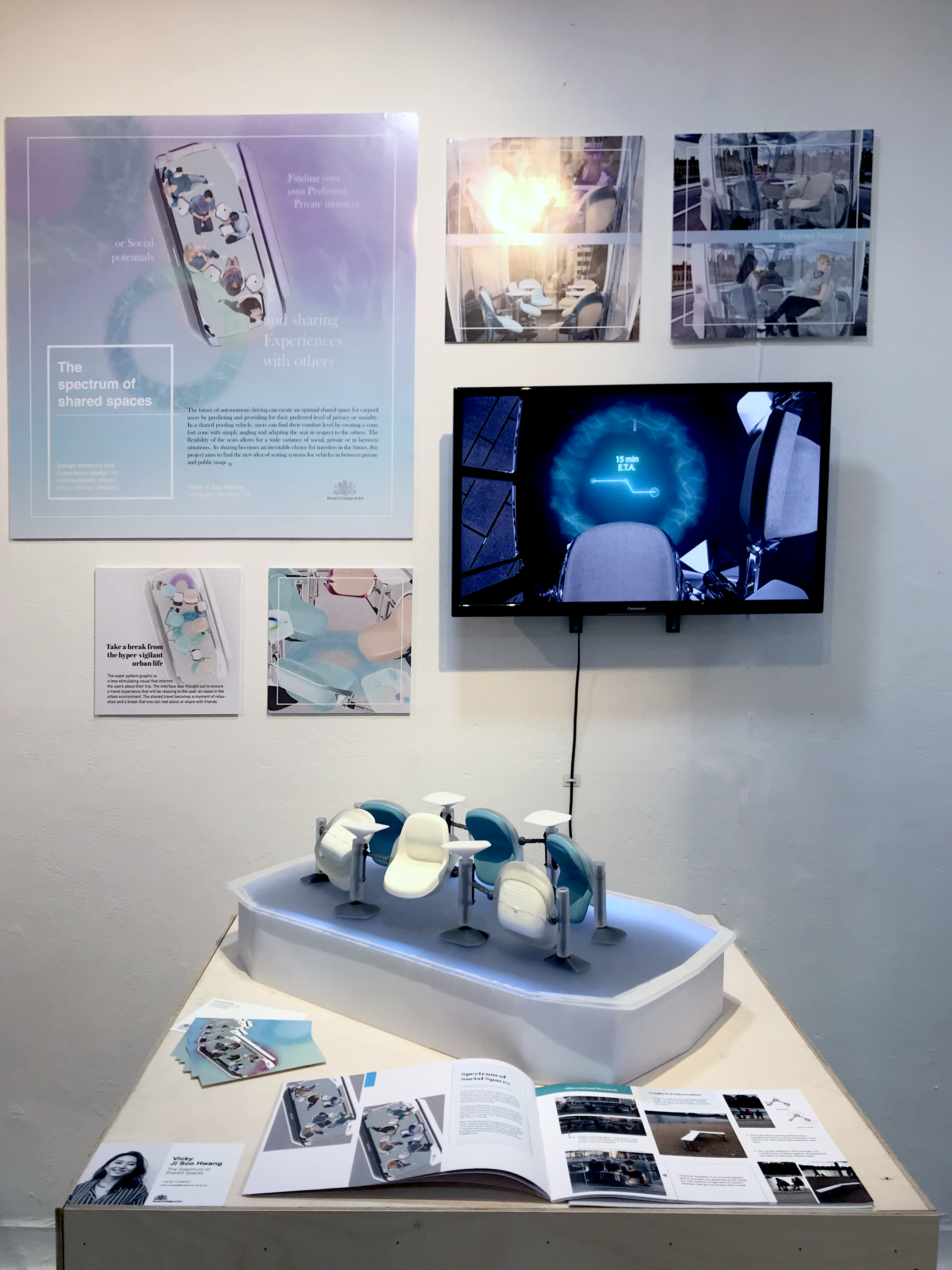Exhibited at the Royal College of Art IM graduate Show - 18/02- 24/02 2019