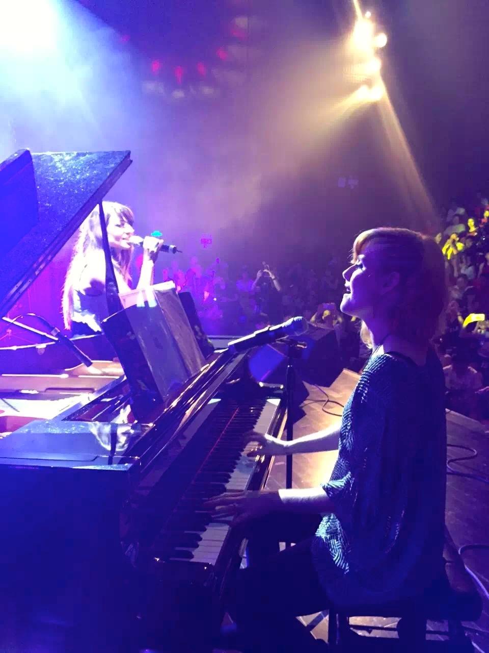 Beijiao Concert Piano and Alex.JPG