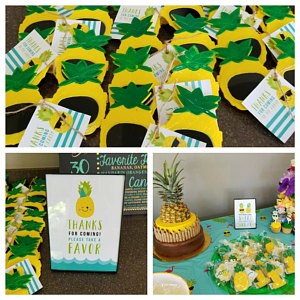 Pineapple Party Signs Customer Review Photo