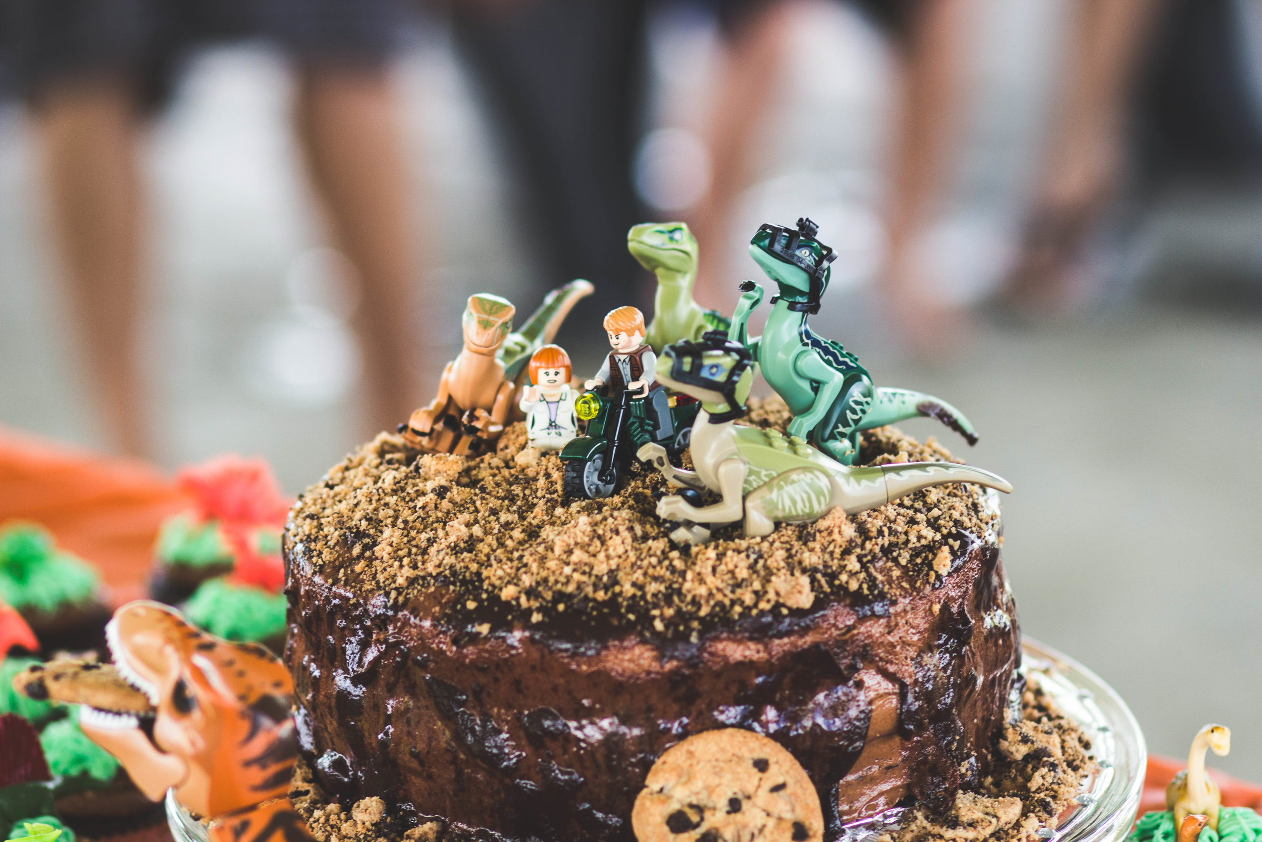 Jurassic World Cake. Check out dino party ideas on shopmkkm.com