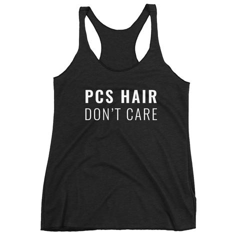 PCS Hair Don't Care shirt from The Rosie Project Apparel