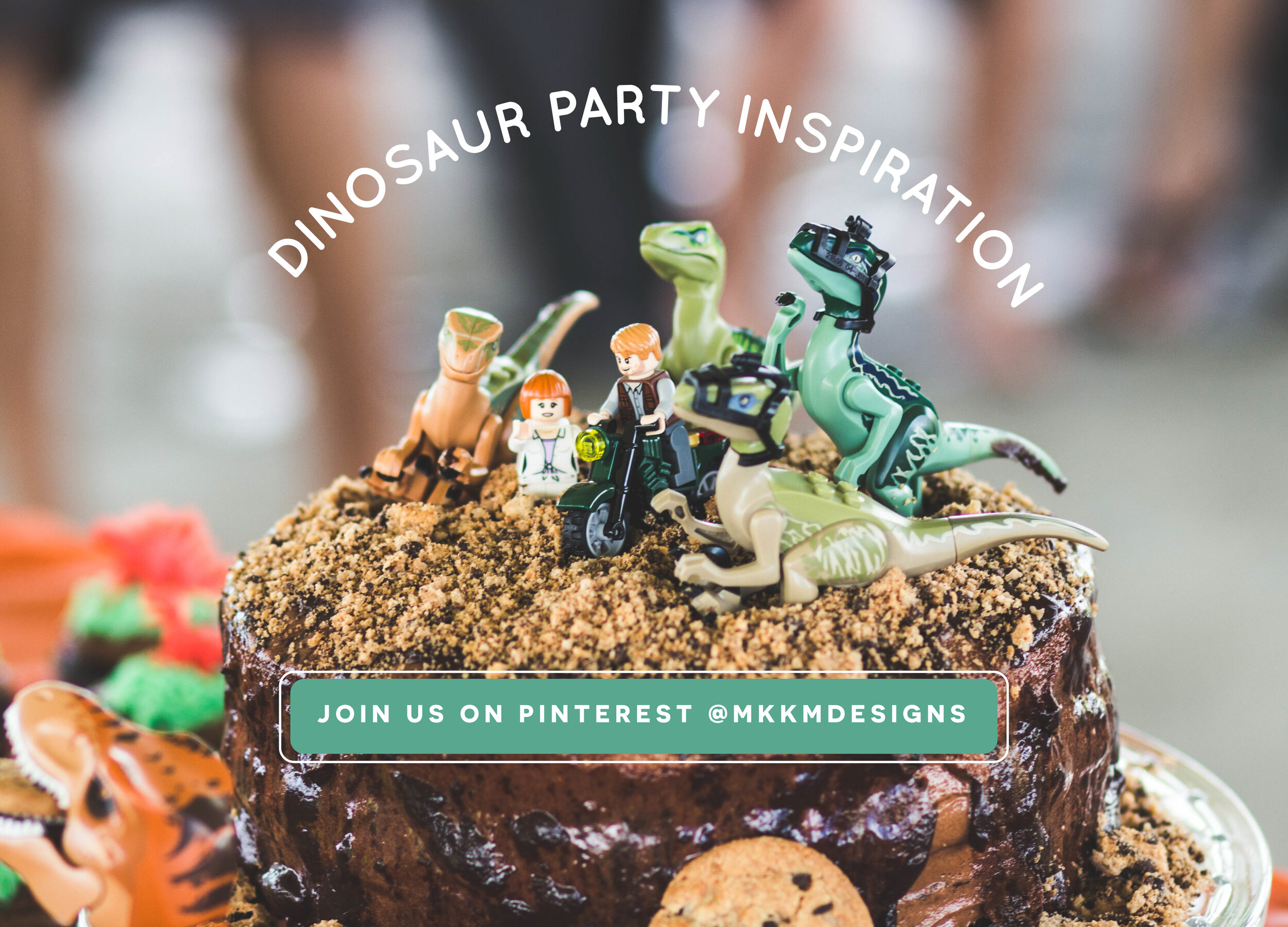 Follow us on Pinterest for more Dinosaur party ideas and more! pinterest.com/mkkmdesigns