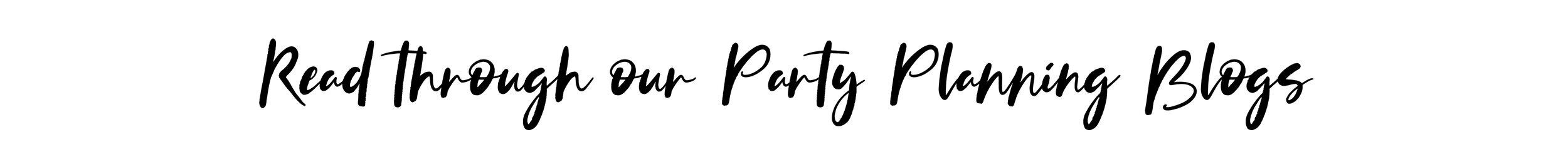 Read through our party planning blogs on shopmkkm.com