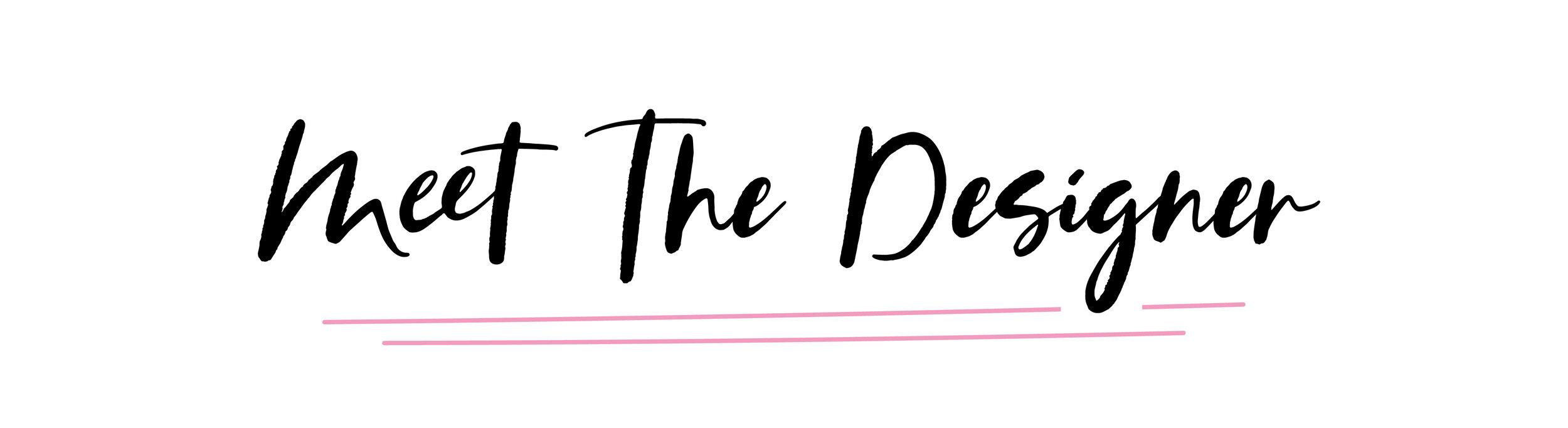 Meet The Designer - shopmkkm.com