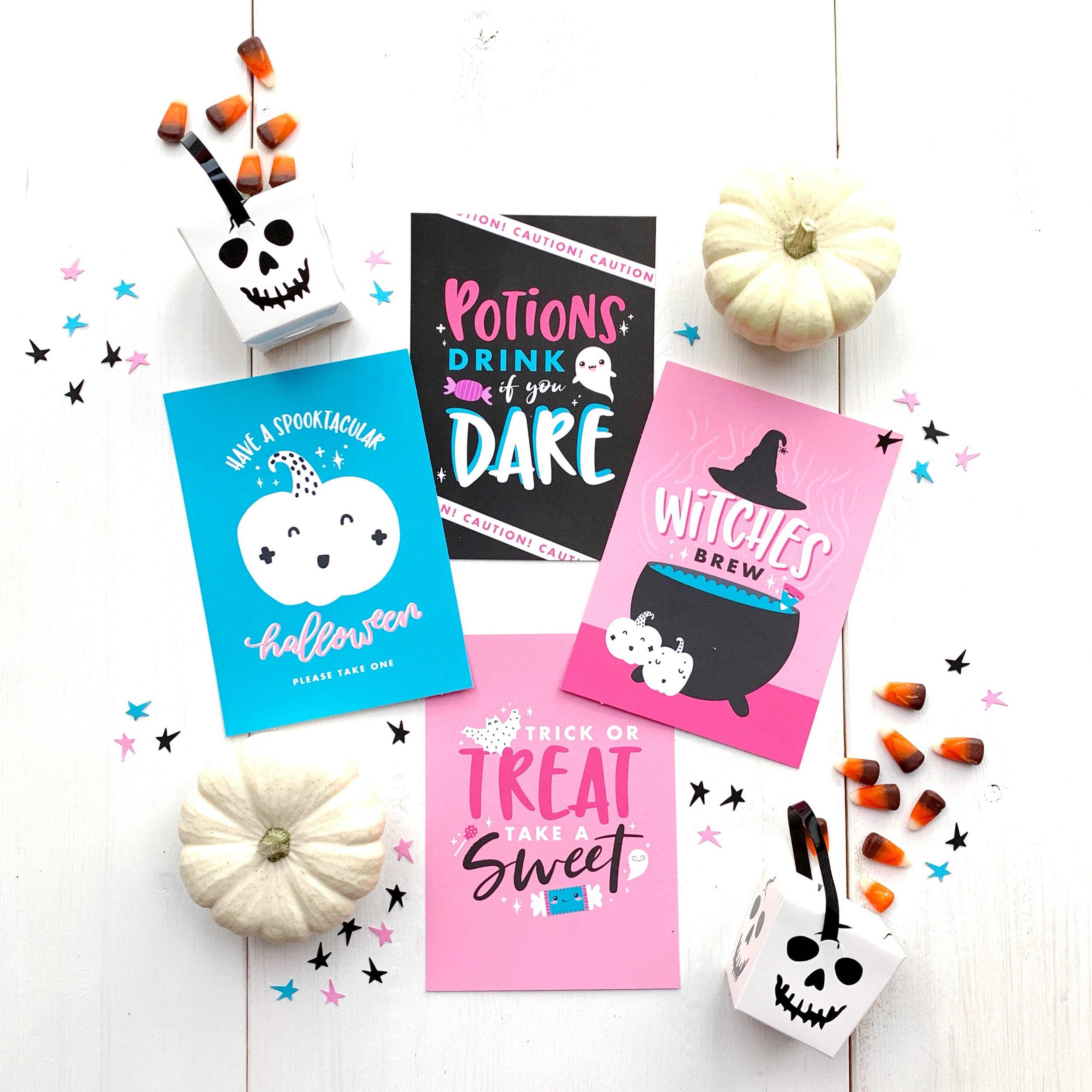 Girly Ghoul halloween party theme from MKKM Designs