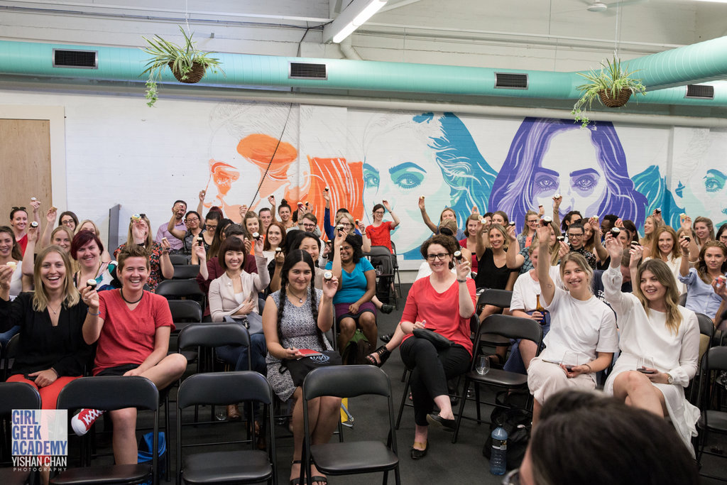 This was an event hosted by General Assembly in our event space to celebrate International Women's Day