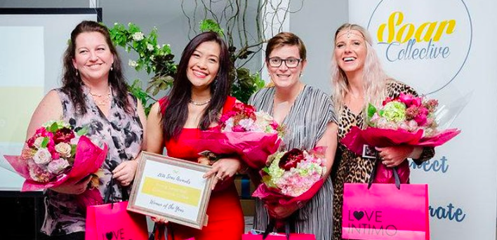 Hosted by award winning businesswomen's community Soar Collective, the Soar Awards were created to give amazing women in business the recognition they deserve for their dedication and commitment to making a positive change through their business or as an individual.