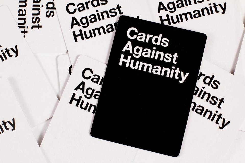 October 13th at 10:30 Cards against HUMANITY battle   Join 106.1 the X and us as we turn Cards against Humanity into a Jeopardy Style Competition with prizes!  $3 appropriately inappropriate shots  $3 bottled beers  $3 well cocktails  $4 Craft Drafts  $5 select red and white wines