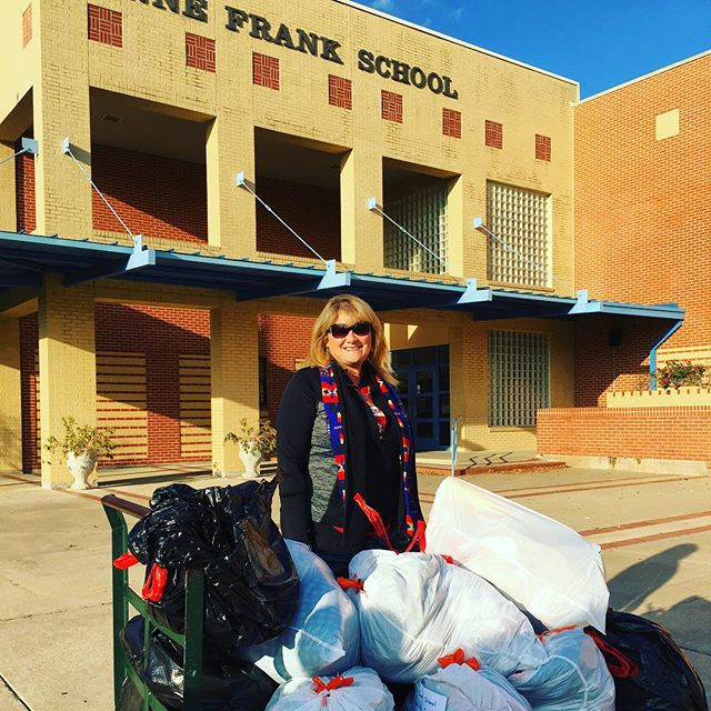 Another for Anne Frank Elementary! #charity #deliveringsmiles #adoptafamily #dallas