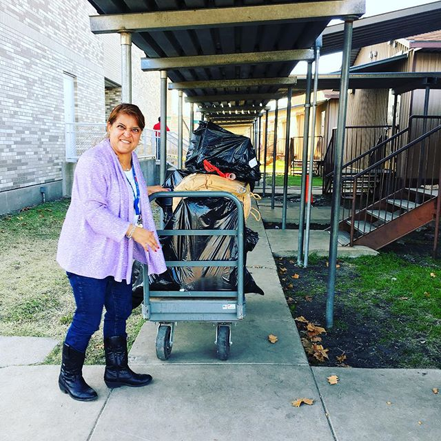 We arrived at the height of carpool at Herbert Marcus but still got everything delivered safe and sound! #charity #dallas #adoptafamily #nonprofit