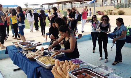 Na'amat Nazareth BBQ and Pool Party at WBAIS