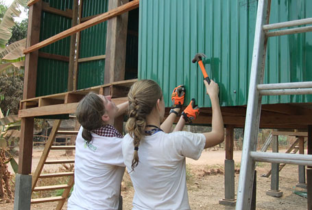 Mother-Daughter Teamwork